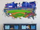 Atlanta Braves SunTrust Park MLB Wall Decal Smashed 3D Sticker Decor Mural OP115 on Ebay