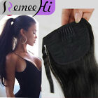 """80g human hair high ponytail extension clip in 100%  Long 16""""20""""24 Many color"""