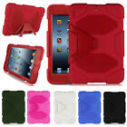 Kids ShockProof Armor Hard Case Cover With Hard Stand For iPad 2/3/4 Mini 1/2/3