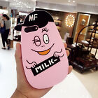 Original 3D Cartoon Hat Pineapple Rubber Soft Back Case For iPhone 6 6s 7 Plus