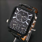 V6 Classic Men's Quartz Analog Multiple Time Zone Stainless Steel Wrist Watch image