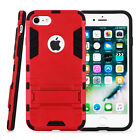 [Shock Proof] Hybrid Heavy Duty Rugged Case Cover For Apple iPhone 7 + SP