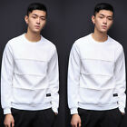 Fashion Men's Slim Fit Long Sleeve Muscle Tee T-shirt Casual Tops Blouse
