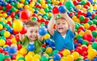 NEW PLASTIC PLAY BALLS FOR CHILDREN BALL PITS POOL BOUNCY CASTLE MULTICOLOURED