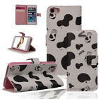 HOT Lovely Cute Leather Flip Wellet Cover Case for Apple iPhone 4 4S