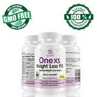 One XS Extra Strength Fast Weight Loss Diet Pills Fat Burner Supplement