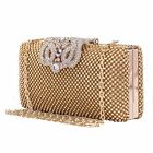 Women's Evening Handbag Clutch Party Wedding Rhinestone Dinner Lady Shoulder Bag
