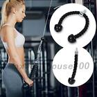 Arm Rope Tricep Multi Gym Cable Push up Pull Down Press Bar Attachment Sport