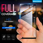 Galaxy Note 9 Note 8 MaxShield 3D Tempered Glass FullCoverage Screen Protector