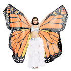 Dance Fairy Belly Dance Butterfly Angel Isis Wings+ Sticks