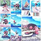 Cartoon Moana Patterned Smart Cover Leather Case For iPad 2 3 4 Mini Air