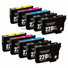 Epson 220XL Black Color Ink Printer WorkForce WF2630 WF2650 WF2660 WF2750 WF2760