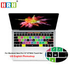 Внешний вид - Shortcuts Silicone Keyboard Cover for Mac Pro Touch Bar A1706 A1707 A1989 A1990
