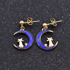 Sailor Moon Crescent Cat Earring Ear Stud Girls Gift Multicolor Jewellery 1 Pair