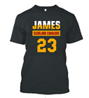 KING JAMES 23 - KIDS YOUTH JERSEY TOPS T SHIRT SHIRTS CLEVELAND (1) SZ S-XL