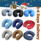 Neck Travel Pillow Memory Foam Soft U Shaped Car Airplane Head Rest Support Pad