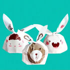 50pcs Bunny Cookies Bag Easter Rabbit Ear Candy Bag Party We