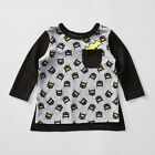 NEW Baby Long Sleeve Batman T-Shirt With Cape