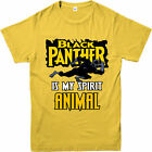 Black panther is my spirit animal Adult T-shirt, Avengers spoof gift Top