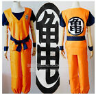 Dragon Ball Z GOKU Costume Anime Cosplay 5 size Free Shipping  Tracking number