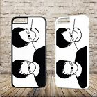 Dan & Phil Cat Youtuber Vlogger Hard Phone Case For Iphone 4 4S 5 5S 6S 7 X PLUS