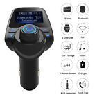 Bluetooth Car FM Transmitter Wireless Radio Adapter Dual USB Charger Mp3 PlayerR