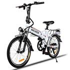 250W shock LED 36V 35km/h Folding Electric Mountain Bike 7 modes 27 Speed 26''