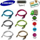 Braided USB Type-C USB-C Type C Charger Charging Cable for Samsung C7 / C9 Pro