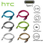 Braided USB Type-C USB-C Type C Charger Charging Cable for HTC U11