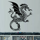 Sticker Déco XXL Murale ou Voiture Animal Dragon Arabesque (40x33 cm à 70x57 cm)