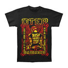 Otep Men's  Never Back Down T-shirt Black