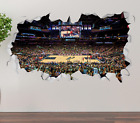 San Antonio Spurs AT&T Center Wall Decal 3D Sticker Smashed Decor Vinyl OP188 on eBay