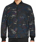 NWT $298 Diesel Slim Fit Printed Cotton-Blend Jacket