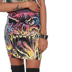 IRON FIST 'CARL' MINI SKIRT - tattoo,goth,skull,zombie,horror,graphic,alt,rock