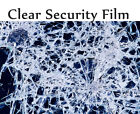 "Transparent 8 Mil 30"" x10ft to 25' Safety Security Window Film Roll Home Glass"