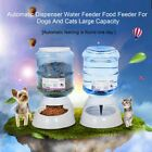 3.5L Pet Dogs Cat Puppy Automatic Bowl Water Drinker Dispenser food Feeder KG