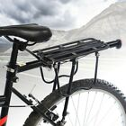 Bicycle Outdoor MTB Mountain Bike Black Rear Pannier Carrier Rack Seat Post Kit