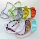 K799 C Mens Sexy String Thong Pouch String Triangle Back Cotton Jersey Soft Thin