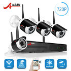 ANRAN 4CH 720P Wireless Home Security System CCTV IP Camera Outdoor Waterproof