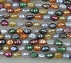 wholesale 15 strands multicolors genuine freshwater pearl various style