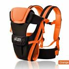 Breathable 4 in 1 Infant Baby Carrier Comfortable Sling Backpack Pouch Wrap Kang
