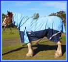 LOVE MY HORSE 1200D 7'0 - 7'6 Clydesdale Summer Combo Rainsheet Sky / Navy