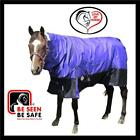 LOVE MY HORSE 1200D 200g 6'3 Ripstop Turnout Winter Combo Horse Rug Purple