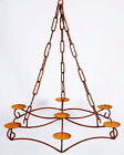 Wrought Iron Celebrity Candle Chandelier Candelabra