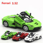 1:32 La Ferrari  Alloy Diecast Car Model Toys Vehicle Sound&Light Red Green
