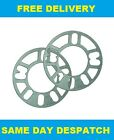 2 X 3MM ALLOY WHEELS SPACERS SHIMS FIT PORSHCE 911 TURBO R