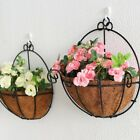 Artificial Flower Wall-mount Simulation Flower Decoration with Iron Basket
