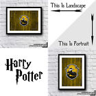 FAN MUST HAVE Harry Potter Hufflepuff House Crest Print Various Designs And Sets
