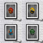 FAN MUST HAVE Harry Potter Ravenclaw House Crest Print Various Designs And Sets