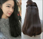 2# dark brown One Piece 5 Clips clip-in on 100% Remy Human Hair Extensions Easy